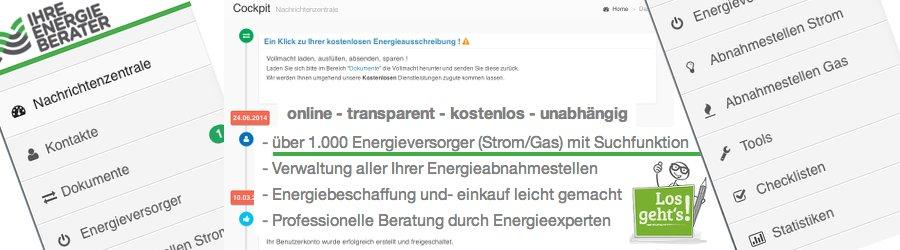 Online Energieausschreibung